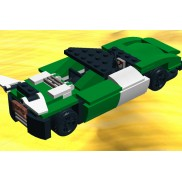 MiniCar green