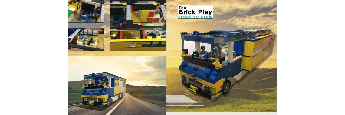 The big ONE, unique bricks RV!
