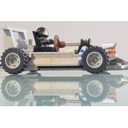 Gray Kart, real steering