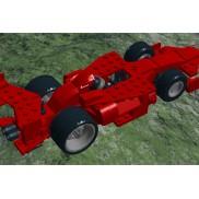 Red asym supercar