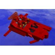 Red little spaceship